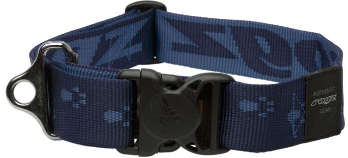 Ошейник для собак Rogz Alpinist, цвет: синий, ширина 4 см. Размер XXLHB29BОшейник для собак Rogzвыполнен из нейлона высокой прочности. Особое плетение полотна способствует увеличению уровня прочности и защиты. Специальная конструкция пряжки Rog Loc - очень крепкая (система Fort Knox). Замок может быть расстегнут только рукой человека. Технология распределения нагрузки позволяет снизить нагрузку на пряжки, изготовленные из титанового пластика, с помощью правильного и разумного расположения грузовых колец.