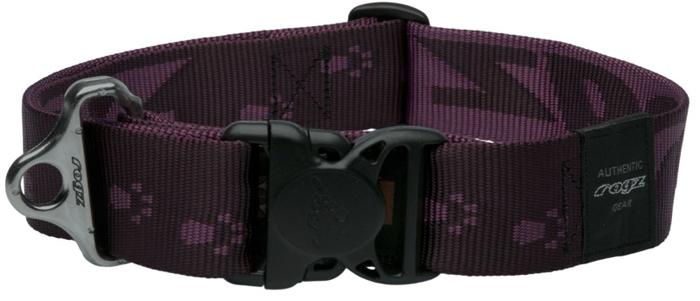 Ошейник для собак Rogz Alpinist, цвет: фиолетовый, ширина 4 см. Размер XXL полуудавка для собак rogz alpinist цвет золотистый ширина 6 см размер l