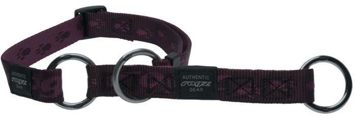 Полуудавка для собак Rogz Alpinist, цвет: фиолетовый, ширина 2 см. Размер L полуудавка для собак rogz alpinist цвет золотистый ширина 6 см размер l
