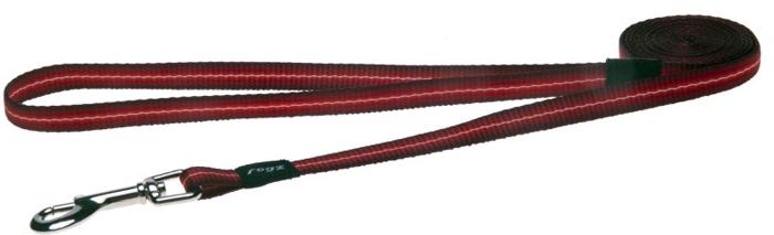 Поводок для собак Rogz Pavement, цвет: красный, ширина 1,1 см. Размер SHL10CПоводок изготовлен из очень мягкого, но прочного нейлона, который не причинит неудобства собаке. Высококачественная тесьма особого плетения, удивительно мягкая на ощупь.Все соединения деталей имеют специальную дополнительную строчку для большей прочности.Выполненные по заказу литые кольца выдерживают значительные физические нагрузки и имеют хромирование, нанесенное гальваническим способом, что позволяет избежать коррозии и потускнения изделия.