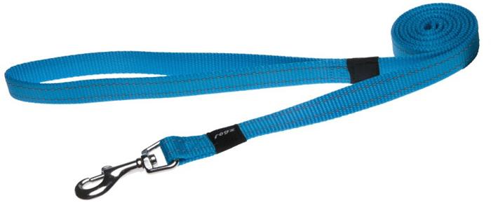 Поводок для собак Rogz Utility , цвет: голубой, ширина 1,6 см. Размер MHL11FВидимость ночью. Светоотражающая нить, вплетенная в нейлоновую ленту - для обеспечения лучшей видимости собаки в темное время суток. Специальная конструкция пряжки Rog Loc - очень крепкая (система Fort Knox). Замок может быть расстегнут только рукой человека. Технология распределения нагрузки позволяет снизить нагрузку на пряжки, изготовленные из титанового пластика, с помощью правильного и разумного расположения грузовых колец, благодаря чему, даже при самых сильных рывках, изделие не рвется и не деформируется.Выполненные специально по заказу ROGZ литые кольца гальванически хромированы, что позволяет избежать коррозии и потускнения изделия.