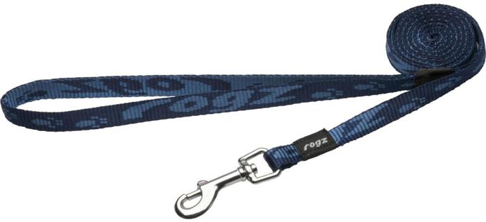 Поводок для собак Rogz Alpinist, цвет: синий, ширина 1,1 см. Размер SHL21BОсобо мягкая, но очень прочная лента обеспечит безопасность на прогулке даже самым активным собакам.Все соединения деталей имеют специальную дополнительную строчку для большей прочности. Выполненые специально по заказу ROGZ литые кольца гальванически хромированы, что позволяет избежать коррозии и потускнения изделия.