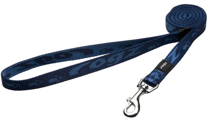 Поводок для собак Rogz Alpinist, цвет: синий, ширина 1,6 см. Размер MHL23BОсобо мягкая, но очень прочная лента обеспечит безопасность на прогулке даже самым активным собакам.Все соединения деталей имеют специальную дополнительную строчку для большей прочности. Выполненые специально по заказу ROGZ литые кольца гальванически хромированы, что позволяет избежать коррозии и потускнения изделия.
