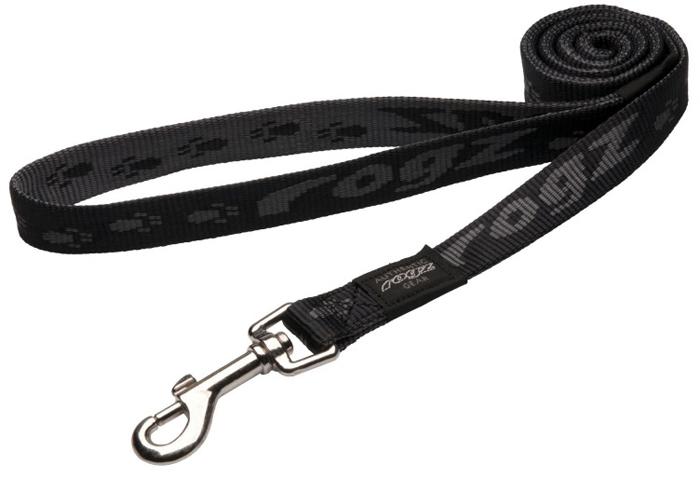 Поводок для собак Rogz  Alpinist , цвет: черный, ширина 2 см. Размер L - Товары для прогулки и дрессировки (амуниция)