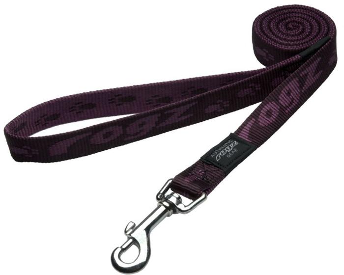 Поводок для собак Rogz  Alpinist , цвет: фиолетовый, ширина 2 см. Размер L - Товары для прогулки и дрессировки (амуниция)
