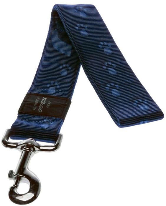 Поводок для собак Rogz Alpinist, цвет: синий, ширина 4 см. Размер XXL полуудавка для собак rogz alpinist цвет золотистый ширина 6 см размер l