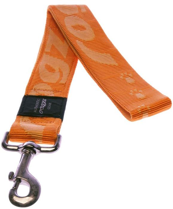 Поводок для собак Rogz Alpinist, цвет: оранжевый, ширина 4 см. Размер XXLHL29DОсобо мягкая, но очень прочная лента обеспечит безопасность на прогулке даже самым активным собакам.Все соединения деталей имеют специальную дополнительную строчку для большей прочности. Выполненые специально по заказу ROGZ литые кольца гальванически хромированы, что позволяет избежать коррозии и потускнения изделия.