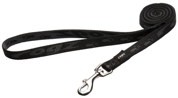 Поводок для собак Rogz Alpinist, удлиненный, цвет: черный, ширина 1,6 см. Размер MHLL23AОсобо мягкая, но очень прочная лента обеспечит безопасность на прогулке даже самым активным собакам.Все соединения деталей имеют специальную дополнительную строчку для большей прочности.Выполненные специально по заказу ROGZ литые кольца гальванически хромированы, что позволяет избежать коррозии и потускнения изделия.