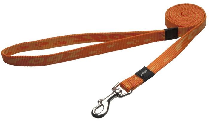 Поводок для собак Rogz Alpinist, удлиненный, цвет: оранжевый, ширина 1,6 см. Размер MHLL23DОсобо мягкая, но очень прочная лента обеспечит безопасность на прогулке даже самым активным собакам.Все соединения деталей имеют специальную дополнительную строчку для большей прочности.Выполненные специально по заказу ROGZ литые кольца гальванически хромированы, что позволяет избежать коррозии и потускнения изделия.