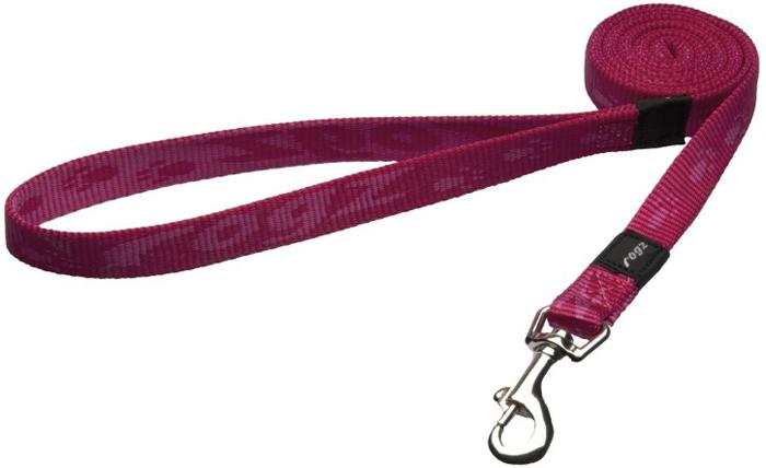 Поводок для собак Rogz  Alpinist , удлиненный, цвет: розовый, ширина 1,6 см. Размер M - Товары для прогулки и дрессировки (амуниция)