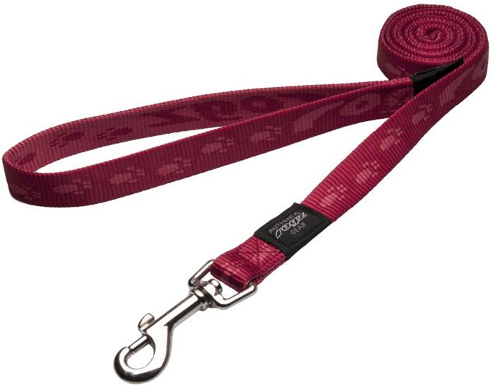 Поводок для собак Rogz Alpinist, удлиненный, цвет: черный, ширина 2 см. Размер L. HLL25C полуудавка для собак rogz alpinist цвет золотистый ширина 6 см размер l