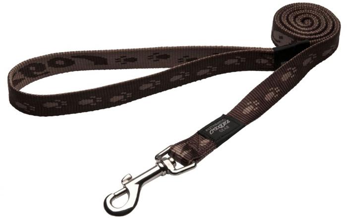 Поводок для собак Rogz Alpinist, удлиненный, цвет: коричневый, ширина 2 см. Размер L. HLL25JHLL25JОсобо мягкая, но очень прочная лента обеспечит безопасность на прогулке даже самым активным собакам.Все соединения деталей имеют специальную дополнительную строчку для большей прочности.Выполненные специально по заказу ROGZ литые кольца гальванически хромированы, что позволяет избежать коррозии и потускнения изделия.