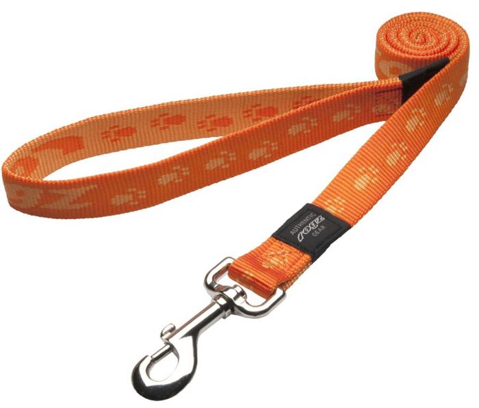 Поводок для собак Rogz Alpinist, удлиненный, цвет: оранжевый, ширина 2,5 см. Размер XLHLL27DОсобо мягкая, но очень прочная лента обеспечит безопасность на прогулке даже самым активным собакам.Все соединения деталей имеют специальную дополнительную строчку для большей прочности.Выполненные специально по заказу ROGZ литые кольца гальванически хромированы, что позволяет избежать коррозии и потускнения изделия.