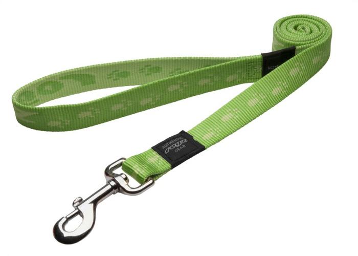 Поводок для собак Rogz Alpinist, удлиненный, цвет: зеленый, ширина 2,5 см. Размер XLHLL27GОсобо мягкая, но очень прочная лента обеспечит безопасность на прогулке даже самым активным собакам.Все соединения деталей имеют специальную дополнительную строчку для большей прочности.Выполненные специально по заказу ROGZ литые кольца гальванически хромированы, что позволяет избежать коррозии и потускнения изделия.