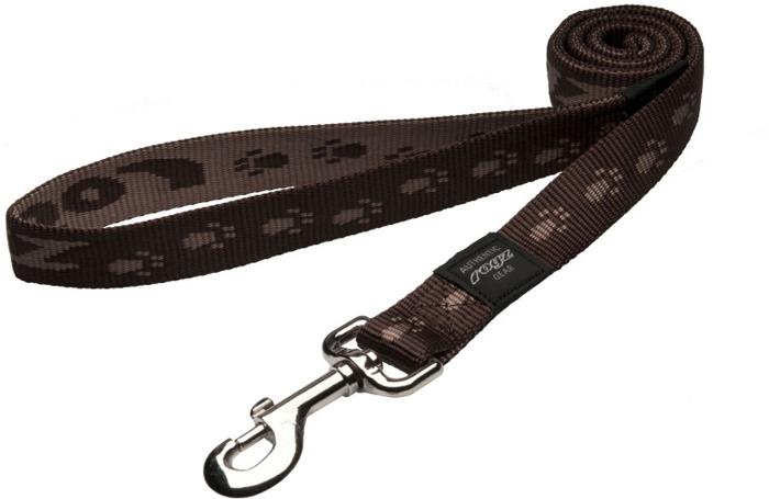Поводок для собак Rogz  Alpinist , удлиненный, цвет: коричневый, ширина 2,5 см. Размер XL. HLL27J - Товары для прогулки и дрессировки (амуниция)