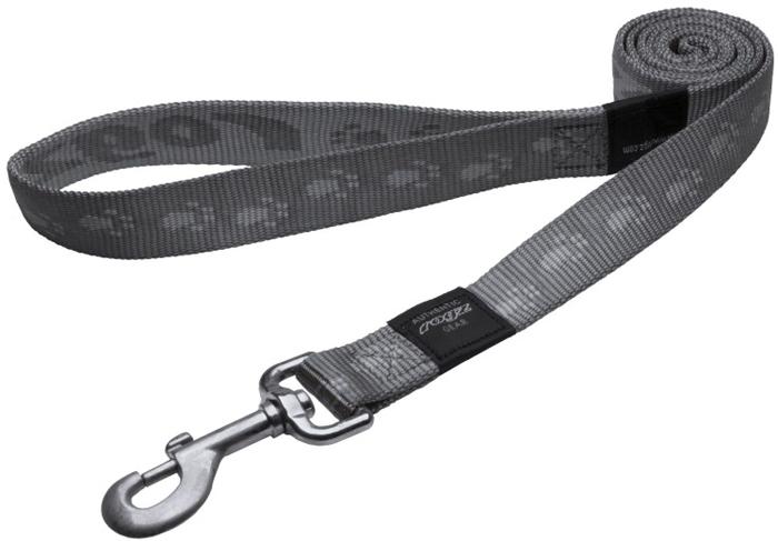 Поводок для собак Rogz Alpinist, удлиненный, цвет: серый, ширина 2,5 см. Размер XLHLL27LОсобо мягкая, но очень прочная лента обеспечит безопасность на прогулке даже самым активным собакам.Все соединения деталей имеют специальную дополнительную строчку для большей прочности.Выполненные специально по заказу ROGZ литые кольца гальванически хромированы, что позволяет избежать коррозии и потускнения изделия.