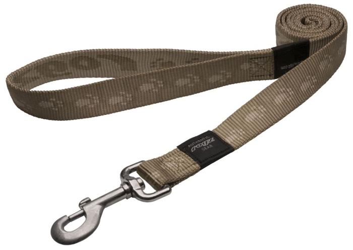 Поводок для собак Rogz  Alpinist , удлиненный, цвет: коричневый, ширина 2,5 см. Размер XL. HLL27M - Товары для прогулки и дрессировки (амуниция)