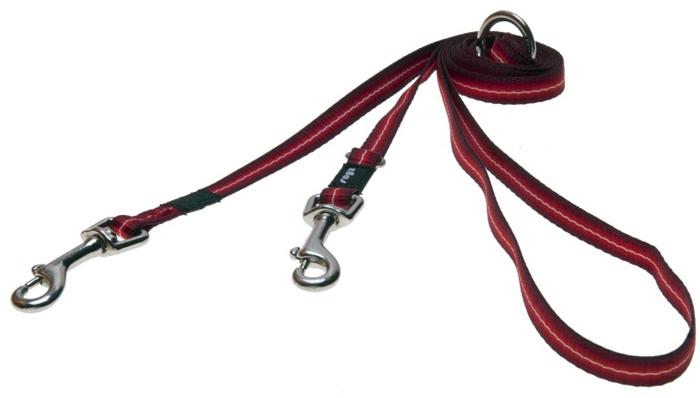 Поводок-перестежка для собак Rogz Pavement Special, цвет: зеленый, ширина 1,1 см. Размер S. HLM10CHLM10CПоводок-перестежка изготовлен из очень мягкого, но прочного нейлона, который не причинит неудобства собаке. Высококачественная тесьма особого плетения, удивительно мягкая на ощупь.Все соединения деталей имеют специальную дополнительную строчку для большей прочности.Выполненные по заказу литые кольца выдерживают значительные физические нагрузки и имеют хромирование, нанесенное гальваническим способом, что позволяет избежать коррозии и потускнения изделия.Многофункциональный поводок-перестежку можно использовать как: поводок для двух собак; короткий, средний или удлиненный поводок (1 м, 1.3 м, 1.6 м); поводок через плечо; временную привязь.