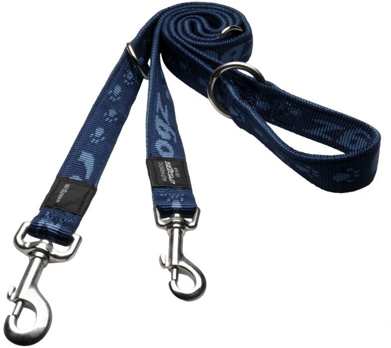 Поводок-перестежка для собак Rogz Alpinist, цвет: синий, ширина 1,6 см. Размер XLHLM27BОсобо мягкая, но очень прочная лента обеспечит безопасность на прогулке даже самым активным собакам.Все соединения деталей имеют специальную дополнительную строчку для большей прочности.Выполненные специально по заказу ROGZ литые кольца гальванически хромированы, что позволяет избежать коррозии и потускнения изделия.Многофункциональный поводок-перестежку можно использовать как: поводок для двух собак; короткий, средний или удлиненный поводок ( 1м, 1. 3м, 1.6 м); поводок через плечо; временную привязь.