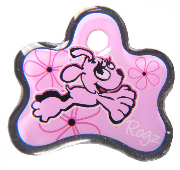 Адресник на ошейник Rogz Yo Yo, цвет: розовый, ширина 2,5 см. Размер SIDB25XАдресник на ошейник Rogz мгновенно готов к использованию.Не требует специальной гравировки. Вся информация может быть записанахозяином сразу после покупки.Защита от коррозии.Дизайн адресника создан таким образом, чтобы дополнить рисунок и расцветкуаксессуаров коллекции Yo Yo.Не гремит при движении собаки.