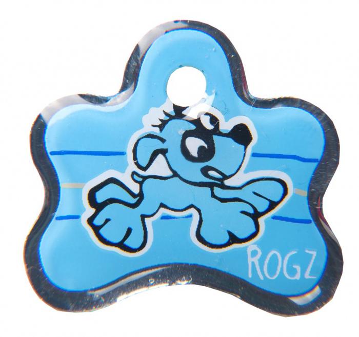 Адресник на ошейник Rogz Yo Yo, цвет: голубой, ширина 2,5 см. Размер SIDB25YАдресник на ошейник Rogz мгновенно готов к использованию.Не требует специальной гравировки. Вся информация может быть записанахозяином сразу после покупки.Защита от коррозии.Дизайн адресника создан таким образом, чтобы дополнить рисунок и расцветкуаксессуаров коллекции Yo Yo.Не гремит при движении собаки.