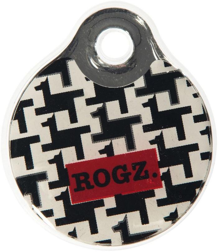 Адресник на ошейник Rogz Fancy Dress, цвет: черный, ширина 3,4 см. Размер L. IDR34BVIDR34BVАдресник на ошейник Rogz Fancy Dress мгновенно готов к использованию.Не требует специальной гравировки. Вся информация может быть записана хозяином сразу после покупки.Защита от коррозии.Дизайн адресника создан таким образом, чтобы дополнить рисунок и расцветку аксессуаров коллекции Fancy Dress.Не гремит при движении собаки.