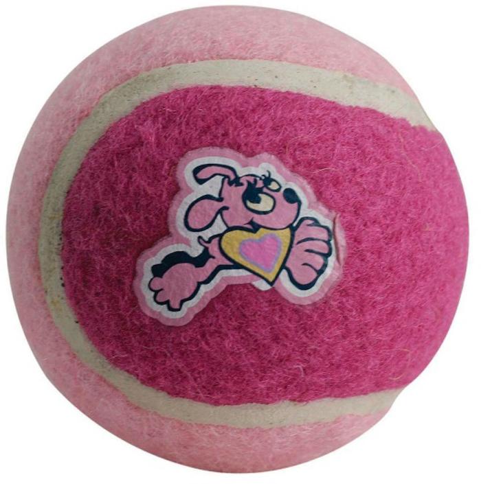 Мяч для собак Rogz Molecules, цвет: розовый, диаметр 6,4 смMC202XМяч предназначен для игры с хозяином в Принеси.Специальное покрытие неабразивным материалом (предназначенным для теннисных мячей) предотвращает стирание зубов у собак и не вредит дёснам и зубам животного.Хорошая упругость для подпрыгивания.Изготовлено из особого термоэластопласта SEBS, обеспечивающего великолепную плавучесть в воде.