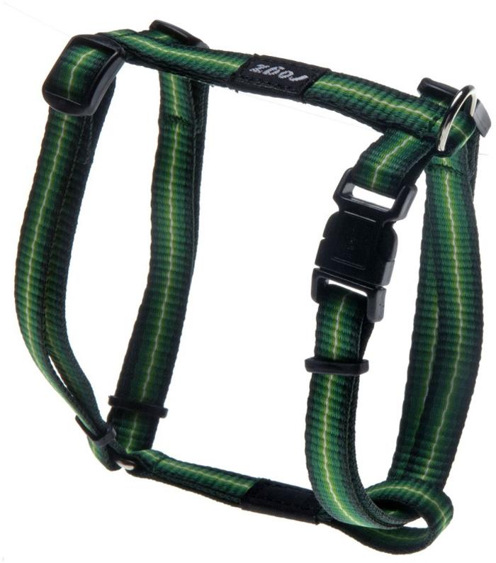 Шлейка для собак Rogz Pavement Special, цвет: зеленый, ширина 1,1 см, обхват шеи 34-56 см, обхват груди 45-75 см. Размер SSJ10AШлейка изготовлена из очень мягкого, но прочного нейлона, который не причинит неудобства собаке. Высококачественная тесьма особого плетения, удивительно мягкая на ощупь.Все соединения деталей имеют специальную дополнительную строчку для большей прочности.Застегивается, не доставляя неудобство собаке.Просто закрепляется на стационарном ремне безопасности.С помощью системы ремней изделие подгоняется под животное индивидуально.Легко можно прикрепить к ошейнику, поводку или шлейке.
