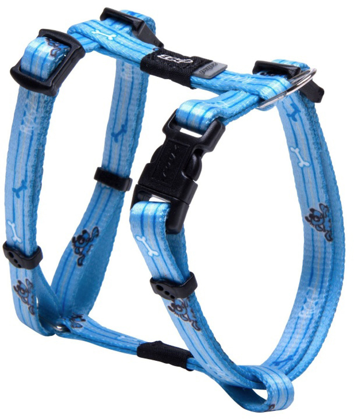 Шлейка для собак Rogz Yo Yo, цвет: голубой, ширина 8 мм, обхват шеи 18-30 см, обхват груди 21-34 см. Размер XS aoda portable cool plastic yo yo toy yellow white