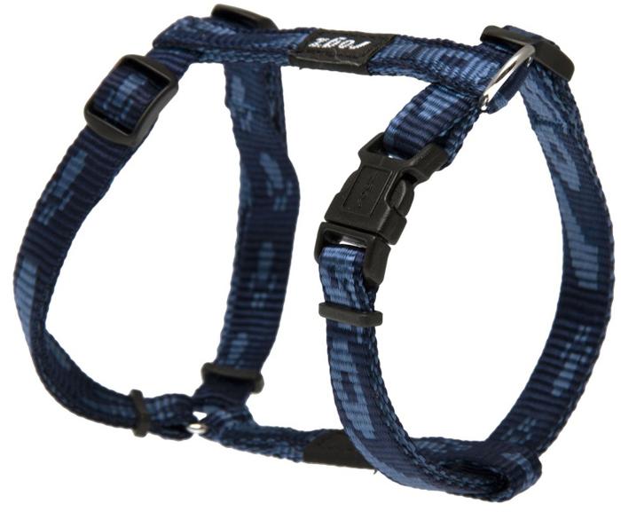 Шлейка для собак Rogz Alpinist, цвет: синий, ширина 1,1 см, обхват шеи 23-31 см, обхват груди 23-37 см. Размер SSJ21BОсобо мягкая, но очень прочная лента обеспечит безопасность на прогулке даже самым активным собакам.Все соединения деталей имеют специальную дополнительную строчку для большей прочности.Специальная конструкция пряжки Rog Loc - очень крепкая (система Fort Knox). Замок может быть расстегнут только рукой человека. Технология распределения нагрузки позволяет снизить нагрузку на пряжки, изготовленные из титанового пластика, с помощью правильного и разумного расположения грузовых колец, благодаря чему, даже при самых сильных рывках, изделие не рвется и не деформируется.Выполненные специально по заказу ROGZ литые кольца гальванически хромированы, что позволяет избежать коррозии и потускнения изделия.