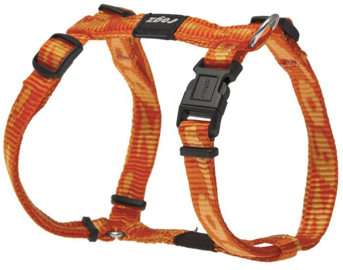 Шлейка для собак Rogz Alpinist, цвет: оранжевый, ширина 1,1 см, обхват шеи 23-31 см, обхват груди 23-37 см. Размер SSJ21DОсобо мягкая, но очень прочная лента обеспечит безопасность на прогулке даже самым активным собакам.Все соединения деталей имеют специальную дополнительную строчку для большей прочности.Специальная конструкция пряжки Rog Loc - очень крепкая (система Fort Knox). Замок может быть расстегнут только рукой человека. Технология распределения нагрузки позволяет снизить нагрузку на пряжки, изготовленные из титанового пластика, с помощью правильного и разумного расположения грузовых колец, благодаря чему, даже при самых сильных рывках, изделие не рвется и не деформируется.Выполненные специально по заказу ROGZ литые кольца гальванически хромированы, что позволяет избежать коррозии и потускнения изделия.