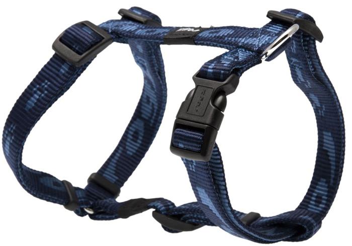 Шлейка для собак Rogz Alpinist, цвет: синий, ширина 1,6 см, обхват шеи 26-40 см, обхват груди 32-52 см. Размер MSJ23BОсобо мягкая, но очень прочная лента обеспечит безопасность на прогулке даже самым активным собакам.Все соединения деталей имеют специальную дополнительную строчку для большей прочности.Специальная конструкция пряжки Rog Loc - очень крепкая (система Fort Knox). Замок может быть расстегнут только рукой человека. Технология распределения нагрузки позволяет снизить нагрузку на пряжки, изготовленные из титанового пластика, с помощью правильного и разумного расположения грузовых колец, благодаря чему, даже при самых сильных рывках, изделие не рвется и не деформируется.Выполненные специально по заказу ROGZ литые кольца гальванически хромированы, что позволяет избежать коррозии и потускнения изделия.
