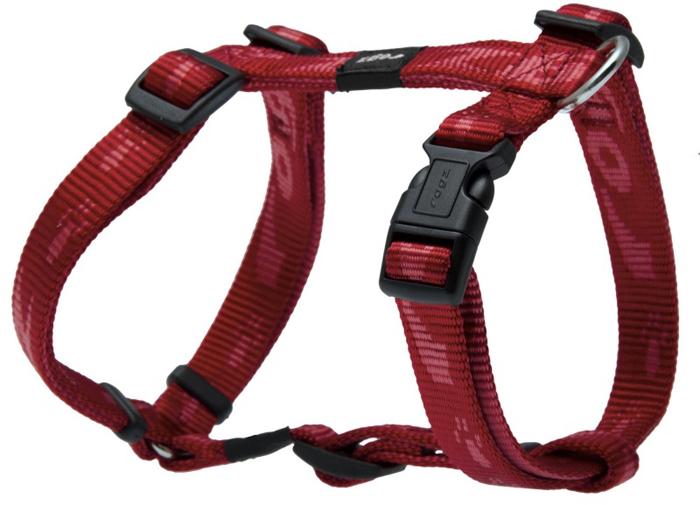 Шлейка для собак Rogz Alpinist, цвет: красный, ширина 1,6 см, обхват шеи 26-40 см, обхват груди 32-52 см. Размер MSJ23CОсобо мягкая, но очень прочная лента обеспечит безопасность на прогулке даже самым активным собакам.Все соединения деталей имеют специальную дополнительную строчку для большей прочности.Специальная конструкция пряжки Rog Loc - очень крепкая (система Fort Knox). Замок может быть расстегнут только рукой человека. Технология распределения нагрузки позволяет снизить нагрузку на пряжки, изготовленные из титанового пластика, с помощью правильного и разумного расположения грузовых колец, благодаря чему, даже при самых сильных рывках, изделие не рвется и не деформируется.Выполненные специально по заказу ROGZ литые кольца гальванически хромированы, что позволяет избежать коррозии и потускнения изделия.