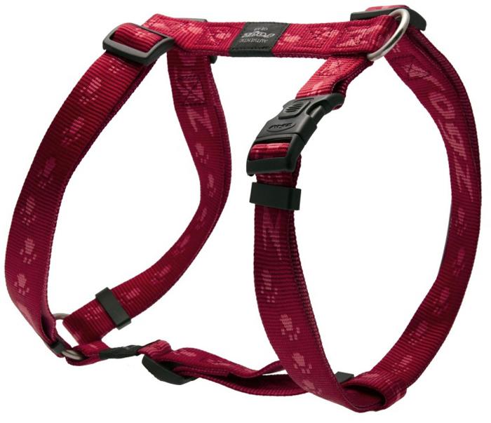 Шлейка для собак Rogz Alpinist, цвет: красный, ширина 2,5 см, обхват шеи 43-70 см, обхват груди 60-100 см. Размер XLSJ27CОсобо мягкая, но очень прочная лента обеспечит безопасность на прогулке даже самым активным собакам.Все соединения деталей имеют специальную дополнительную строчку для большей прочности.Специальная конструкция пряжки Rog Loc - очень крепкая (система Fort Knox). Замок может быть расстегнут только рукой человека. Технология распределения нагрузки позволяет снизить нагрузку на пряжки, изготовленные из титанового пластика, с помощью правильного и разумного расположения грузовых колец, благодаря чему, даже при самых сильных рывках, изделие не рвется и не деформируется.Выполненные специально по заказу ROGZ литые кольца гальванически хромированы, что позволяет избежать коррозии и потускнения изделия.