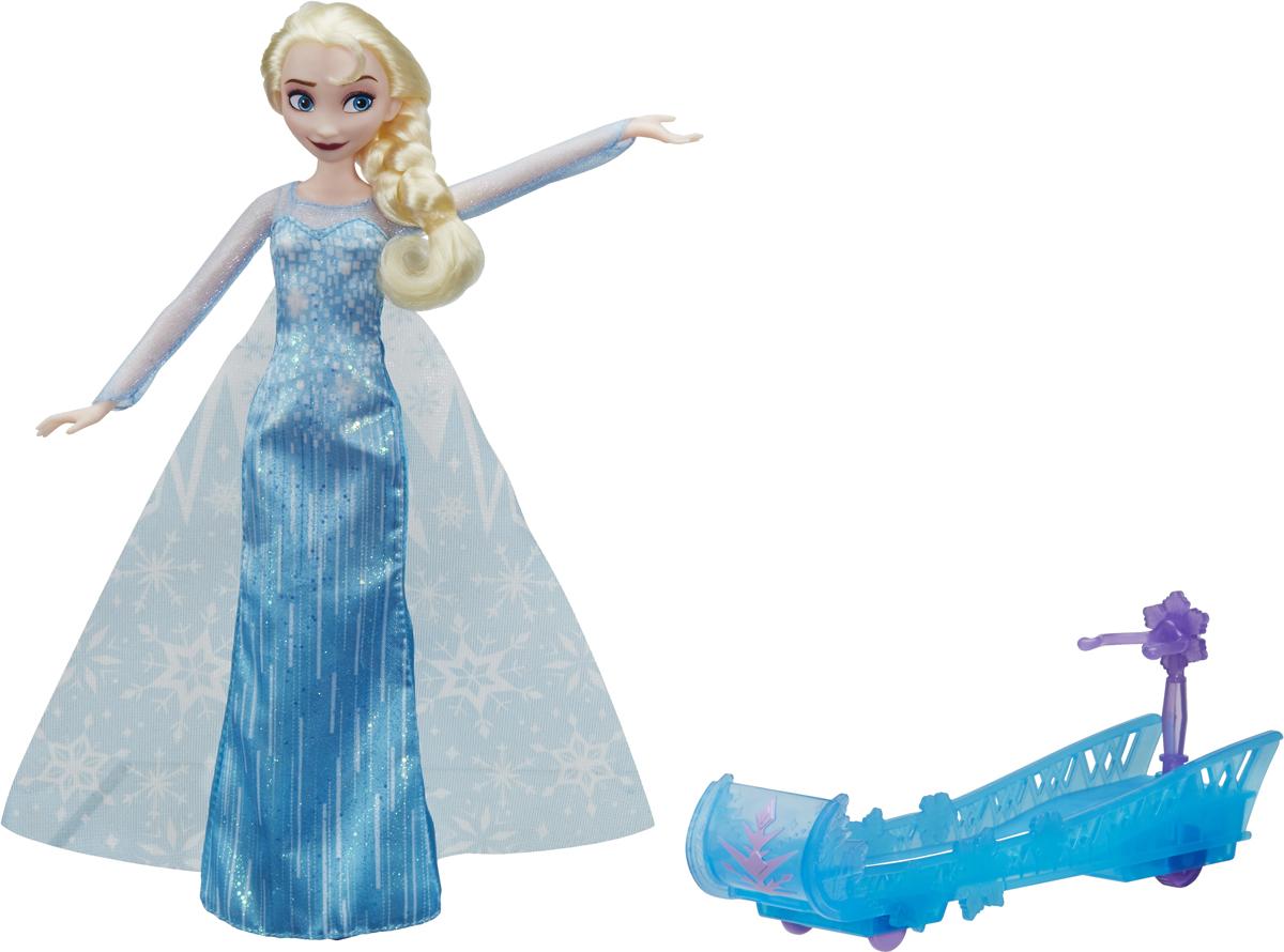 Disney Frozen Кукла Холодное сердце Эльза и санки