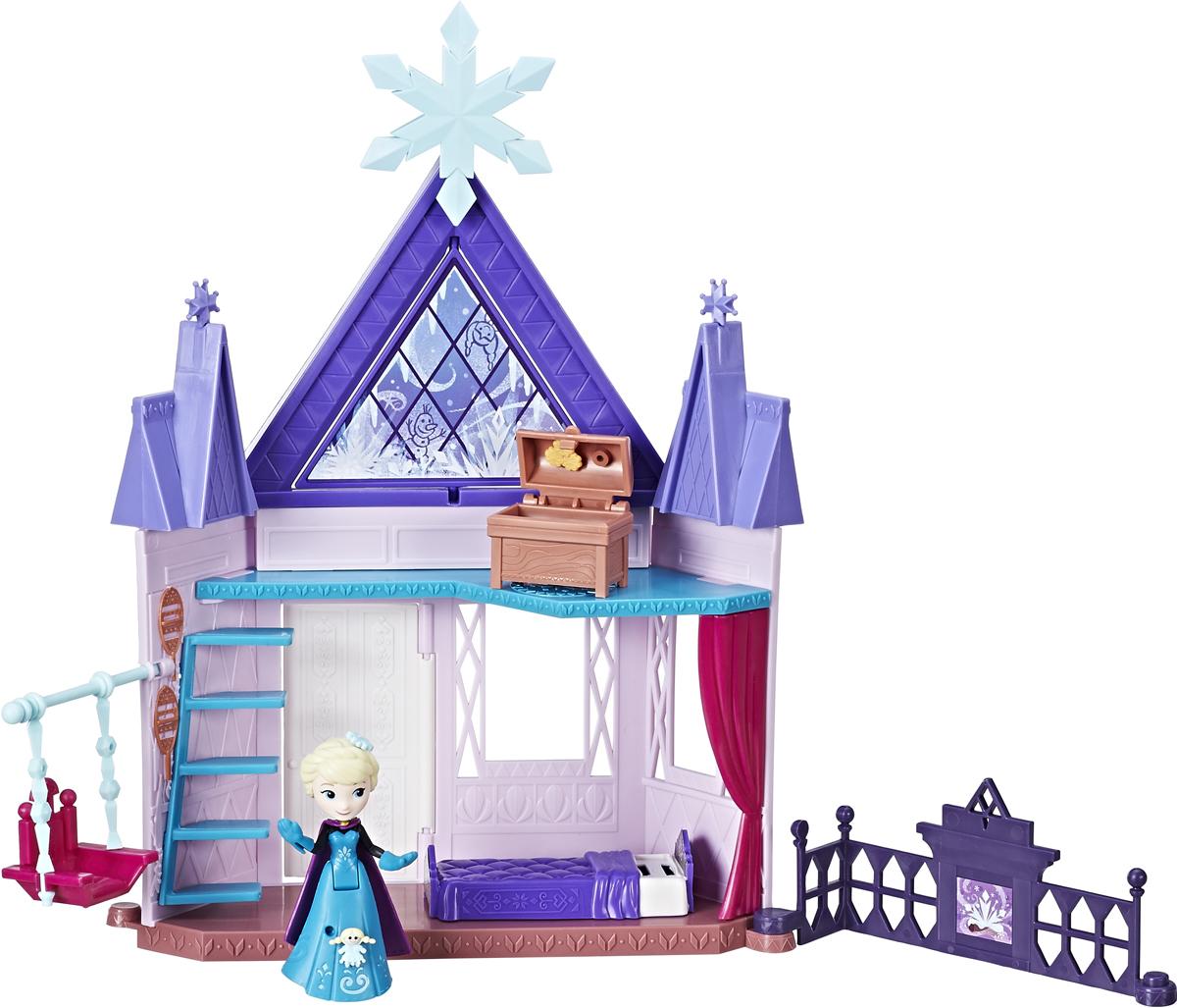 Disney Frozen Игровой набор Холодное сердцеСпальня Эльзы disney frozen игровой набор с куклой замок эльзы сделай волшебный снег