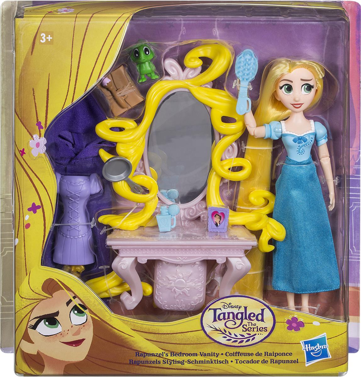 Disney Tangled Кукла Рапунцель с аксессуарами кукла yako m6579 6
