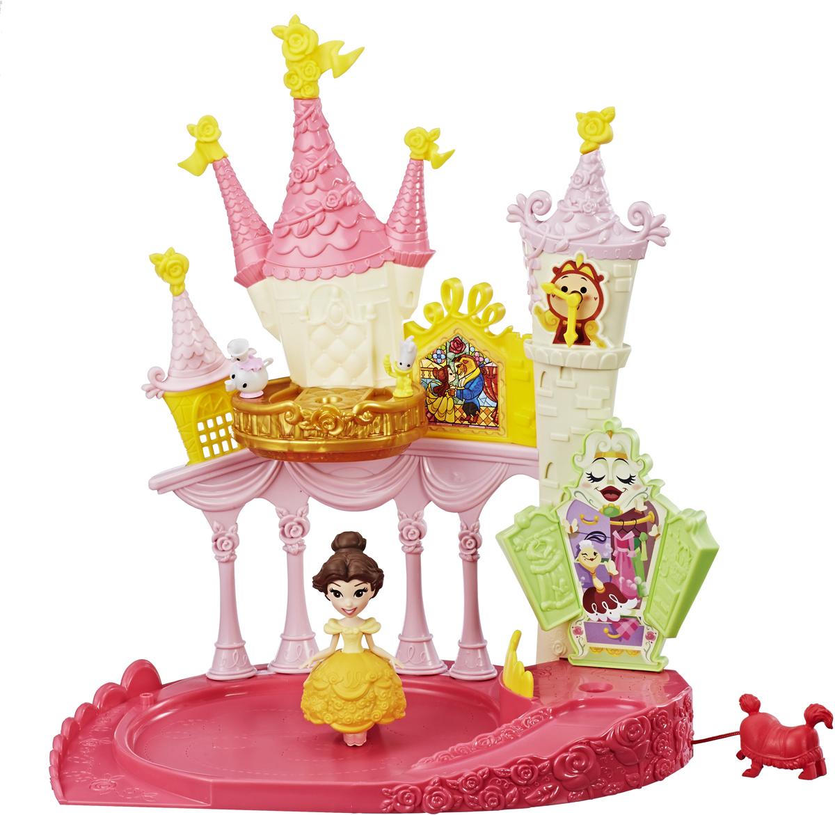 Disney Princess Игровой набор дворец Бэлль игровые наборы disney princess игровой набор моана в ассортименте