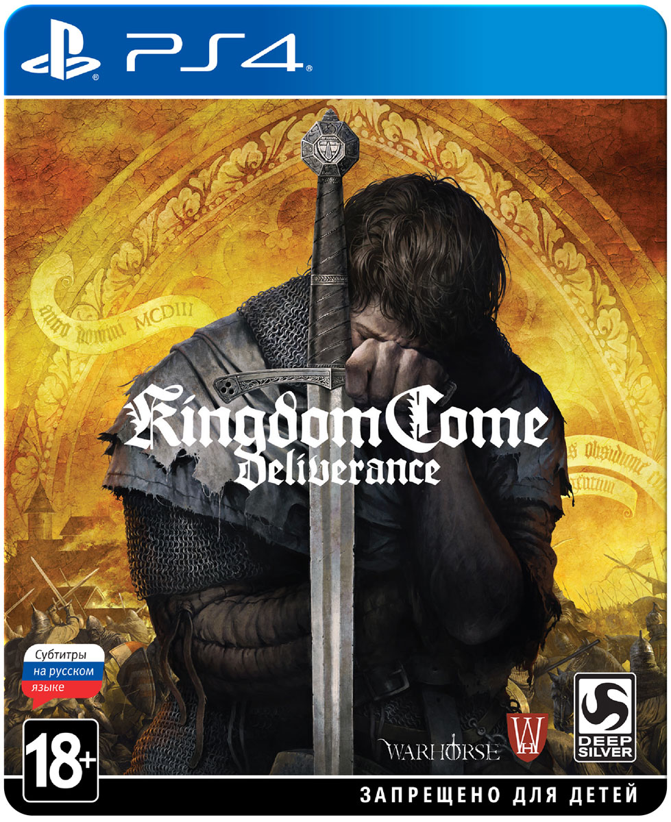 Kingdom Come: Deliverance. Издание Steelbook (PS4) цена и фото