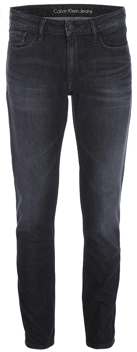 Джинсы мужские Calvin Klein Jeans, цвет: черный. J30J306281_9113. Размер 29-32 (44-32)J30J306281_9113