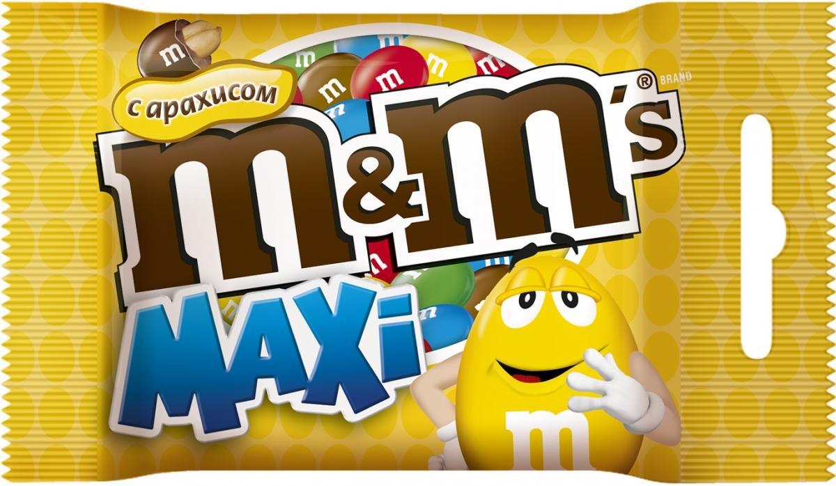 M&M's Драже с арахисом, 70 г jelly belly bean boozled драже жевательное 45 г