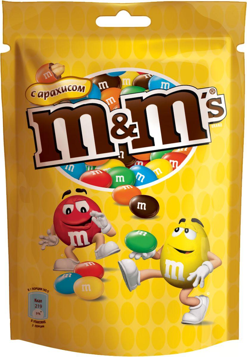 M&M's Драже с арахисом, 130 г драже m