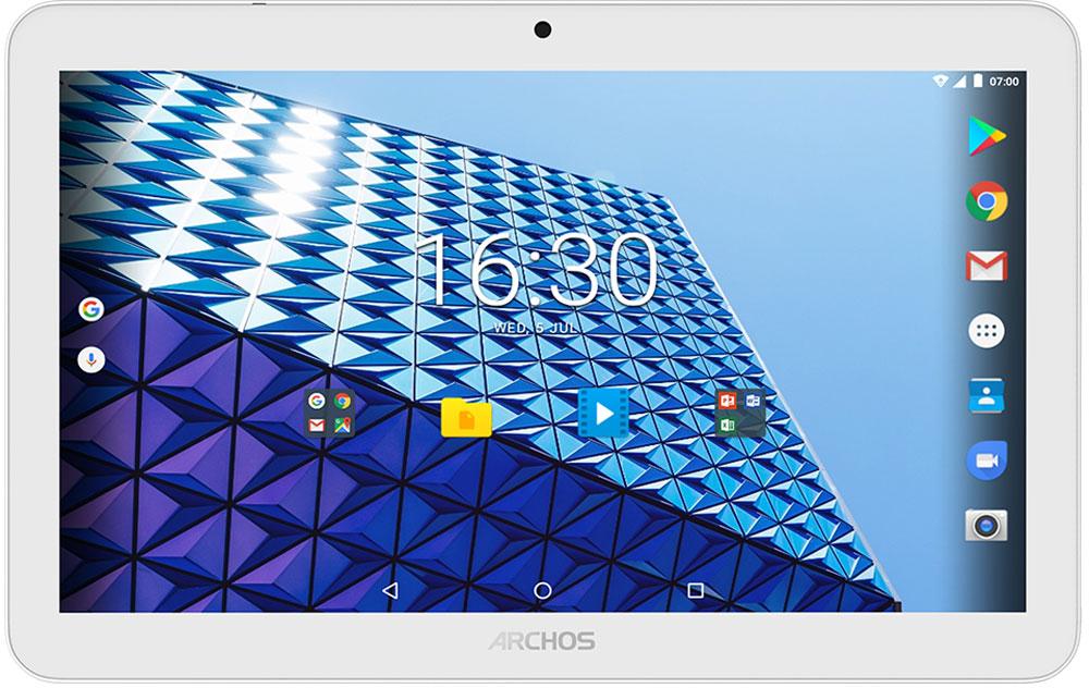 Archos Access 101 3G 16GB87389Archos Access 101 3G - мультимедийный планшет, который пригодится человеку, любящему смотреть видео с экрана мобильного устройства. Он подходит для домашнего использования, его можно взять с собой в любую поездку.Красивый 10,1-дюймовый экран (1024 х 600) Archos Access 101 3G идеально подходит для интернет-сёрфинга в дороге.Для быстрой и надежной работы Archos Access 101 3G оснащен 4-ядерным процессором.Снимайте все, что считайте важным и интересным с помощью фронтальной 2 Мпикс и основной 0,3 Мпикс камер.От игр и до просмотра видео - 1 ГБ памяти помогут справиться с любой задачей.Благодаря поддержке 3G соединения, вы можете запускать онлайн-приложения и просматривать интернет где угодно, используя Archos Access 101 3G.Ha Archos Access 101 3G установлена система Android 7.0 Nougat, обеспечивающая его быструю и надежную работу.Планшет сертифицирован EAC и имеет русифицированный интерфейс, меню и Руководство пользователя.