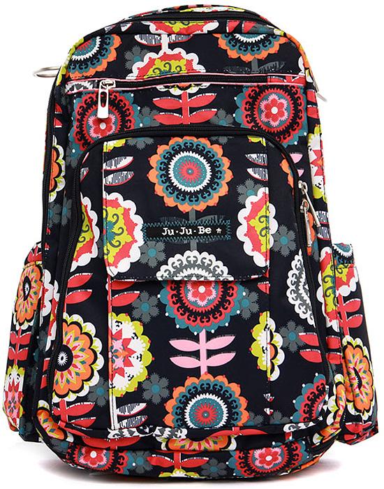 Ju-Ju-Be Рюкзак для мамы Be Right Back цвет серый розовый 12BP01A-4392 сумка для мамы ju ju be be light onyx black beauty