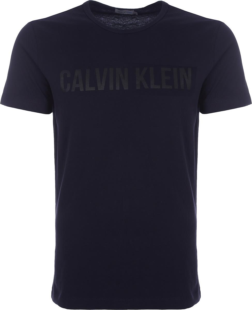 Футболка мужская Calvin Klein Jeans, цвет: зеленый. J30J306518_4020. Размер S (46/48)J30J306518_4020