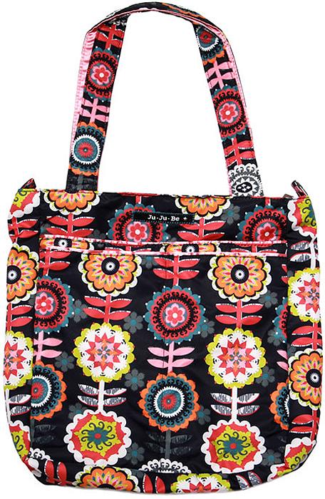 Ju-Ju-Be Сумка для мамы Be Light цвет серый розовый 13FF01A-4422 сумка для мамы ju ju be be light providence