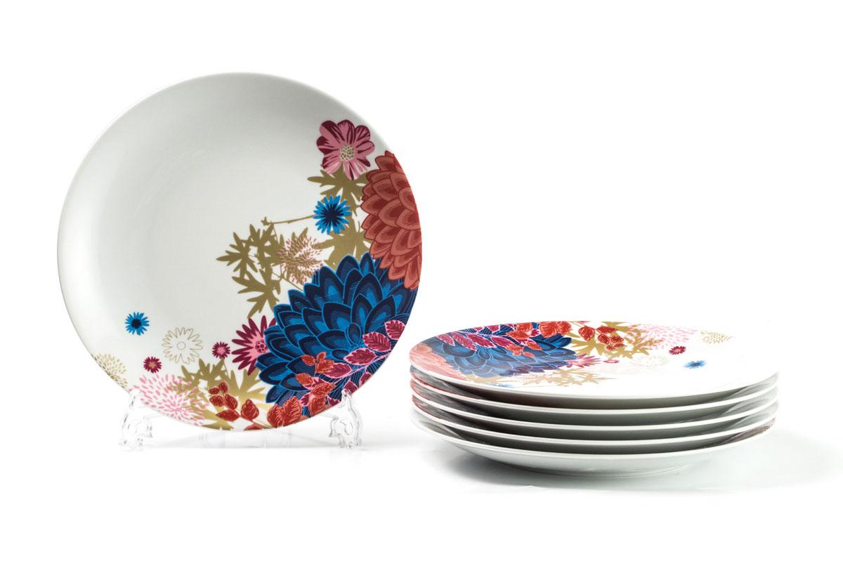 Набор тарелок La Rose des Sables Ilionor, диаметр 27 см, 6 шт729006 2227Можно использовать в СВЧ и посудомоечной машине.