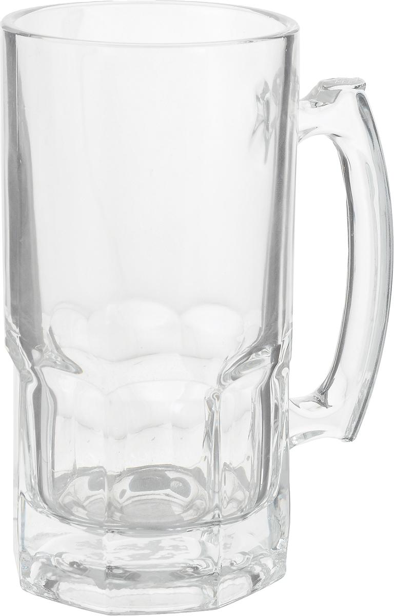 Кружка пивная Patricia, 1 л. IM99-5716IM99-5716Большая пивная кружка Patricia изготовлена из стекла. Она непременно понравится любителям пенного напитка, веселых посиделок и отвязных вечеринок. Пивная кружка превратит заурядную встречу в незабываемый вечер, а также станет оригинальным сувениром.Диаметр кружки (по верхнему краю): 10,3 см. Диаметр основания: 9,3 см. Высота кружки: 19,8 см. Ширина кружки (с учетом ручки): 16 см.