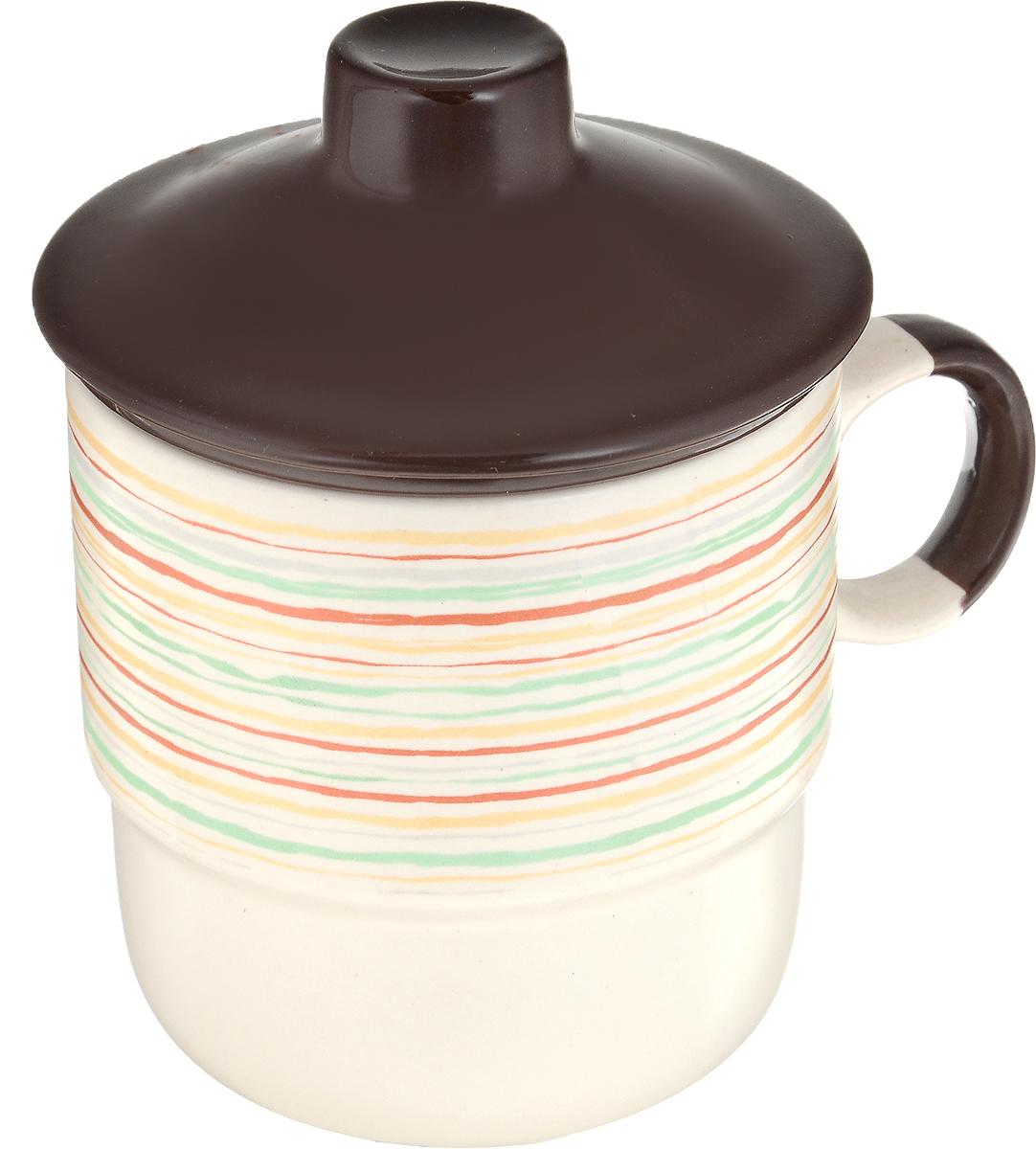Кружка Bella, цвет: светло-бежевый, 310 млKR-SCD194-1128Для использования в домашнем обиходе. Срок годности не ограничен.Изделие рекомендуется мыть вручную с применением любых моющих средств, предназначенных для мытья посуды и стекла. Применение чистящих абразивных средств не рекомендуется, так как может привести к появлению царапин на поверхности изделия и, соответственно, кухудшению его внешнего вида. Объем 310 мл.