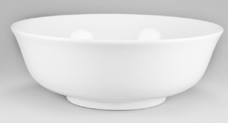 Салатник Nikko, диаметр 20 смРП-3200-3820Банкетный салатник Nikko выполнен из утонченного и изысканного костяного фарфора.Костяной фарфор Nikko - наиболее совершенный. Среди профессионалов считается, что по качеству и красоте аналогов такого фарфора нет.Своим чистым белым цветом и прозрачностью японский фарфор завоевал отличную репутацию и первое место по продажам на мировом рынке.Банкетный салатник Nikko может создать атмосферуна вашем столе и превратить повседневную еду в праздник!